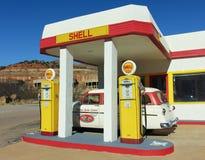 En 50-tal Ford Station Wagon, Lowell, Arizona Royaltyfria Bilder