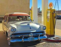 En 50-tal Ford Station Wagon, Lowell, Arizona Arkivfoton