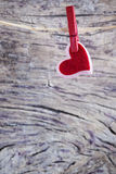 en tant que vecteur rouge de forme de belle illustration fondamentale de coeur Photos stock