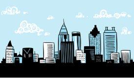 Tecknad film Atlanta Fotografering för Bildbyråer