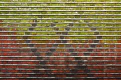 En tegelstenvägg Royaltyfri Bild