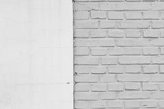 En tegelstenvägg Arkivfoton