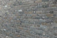 En tegelstenvägg Royaltyfri Fotografi