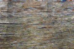 En textur av det gamla kryssfanerbrädet som en bakgrund Royaltyfria Bilder