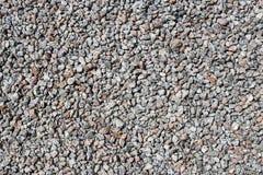 En textur av små stenar Royaltyfri Fotografi