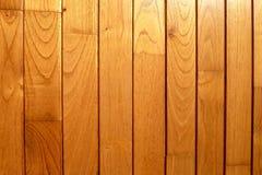 En textur av träplankor som fodrar som en bakgrund Royaltyfria Foton