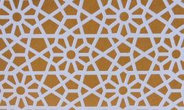 En textur och en detalj av järnstaketet En fin detaljbakgrund för abstrakt design Arkivfoto