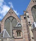 En 12th århundradekyrka i Amsterdam, Nederländerna Royaltyfri Bild