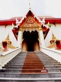 En thailändsk tempel Arkivbilder