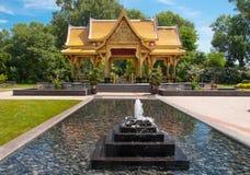En thailändsk paviljong Arkivfoto