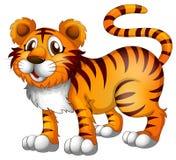 En tiger vektor illustrationer