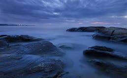 Blåttmorgon Arkivbilder