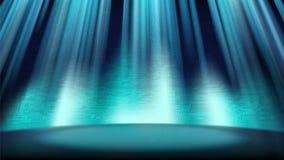 En tom blå plats med brädet för utskrivaven strömkrets för bakgrund Royaltyfria Foton