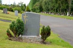 Tom gravestone royaltyfria foton