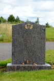 Tom gravestone arkivfoto