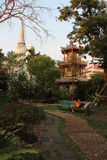 En-toutequiétude (Bangkok - Thaïlande) Arkivbild