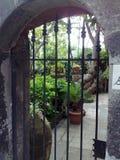En trädgård i Italien Arkivbild