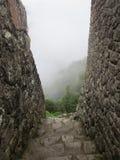En trappa till ingenstans Arkivbild