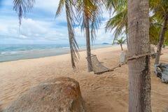 En trevlig strand Arkivbild