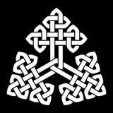 En triangulär för fnurenvektor för kinesisk stil illustration Royaltyfri Fotografi