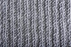 En tricotant la texture, fermez-vous  Images stock