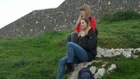 En tur till Irland - vagga av Cashel är en berömd gränsmärke lager videofilmer