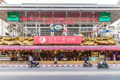 En typisk plats i Patong Thailand royaltyfria bilder