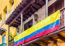 En typisk sikt av Cartagena Colombia Royaltyfria Foton