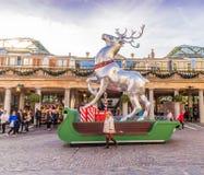 En typisk sikt i Covent Garden royaltyfria bilder