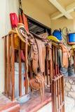 En typisk sikt i den Copan staden i Honduras arkivfoton