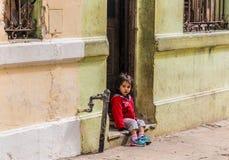 En typisk sikt i havannacigarr i Kuba arkivfoton