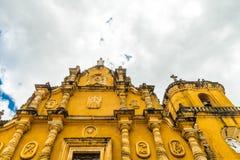 En typisk sikt i Leon Nicaragua fotografering för bildbyråer