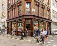 En typisk sikt i london arkivbild