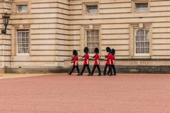 En typisk sikt i london royaltyfria foton