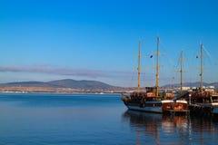 En tyst hamn Fotografering för Bildbyråer