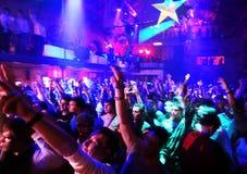 En un club nocturno Fotografía de archivo