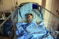 En un hospital Fotografía de archivo libre de regalías