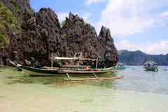 En una isla tropical Filipinas imagenes de archivo