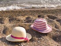 En una playa del mar Imagenes de archivo