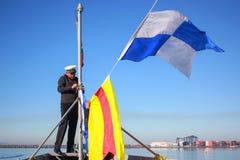 En ung flotta Fotografering för Bildbyråer
