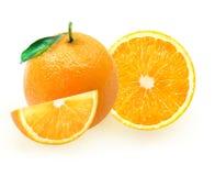 En uppsättning av apelsiner Royaltyfri Fotografi