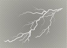 En uppsättning av blixtmagi och ljusa ljusa effekter också vektor för coreldrawillustration Elektrisk ström för urladdning Laddni vektor illustrationer