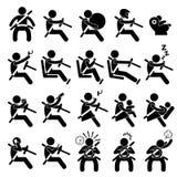 Köra säkerhet Guide gör och gör inte pictogramen royaltyfri illustrationer