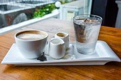 En uppsättning av kaffe Royaltyfri Fotografi