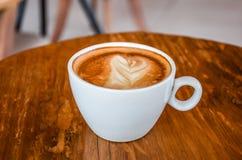 En uppsättning av kaffe Arkivfoto