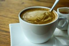 En uppsättning av kaffe Royaltyfria Foton