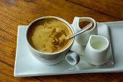 En uppsättning av kaffe Royaltyfria Bilder