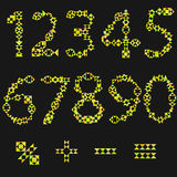 En uppsättning av nummer, Arkivfoton