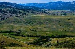 En ursnygg dal i Wyoming Royaltyfria Foton