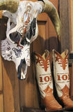 En utställning på Texas Cowboy Hall av berömmelse Royaltyfria Foton